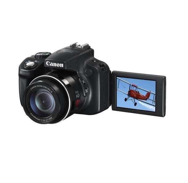 0a7f70e7f48e ... Canon Powershot SX50 HS digitális bridge fényképezőgép : 6352B011AA  fotó kicsi 1 ...